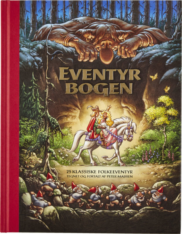 Cover of Danish fairy tale book