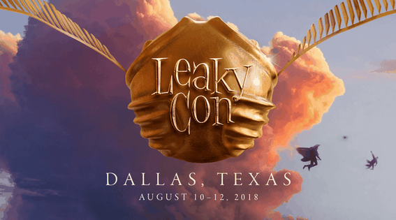 LeakyCon (Dallas, Texas; August 10-12 2018)